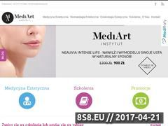 Miniaturka domeny mediartinstytut.pl