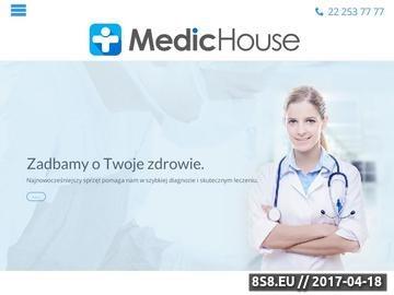 Zrzut strony USG w Warszawie