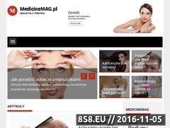 Miniaturka domeny medicinemag.pl