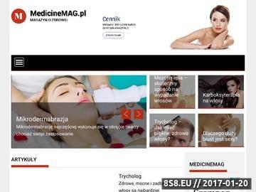 Zrzut strony Artykuły medyczne