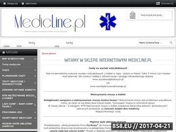 Zrzut strony Zaopatrzenie medyczne, gabinetów lekarskich, rehabilitacyjnych, kosmetycznych,