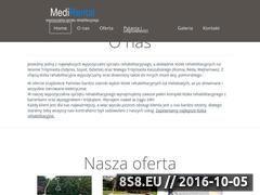 Miniaturka domeny medirental.pl