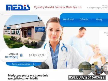 Zrzut strony Dermatologia Katowice