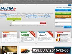 Miniaturka domeny www.mediteka.pl