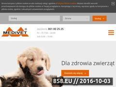 Miniaturka domeny www.medivet.pl