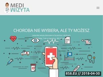 Zrzut strony Wizyty domowe Szczecin