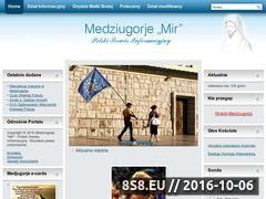 Miniaturka domeny www.medjugorje.org.pl