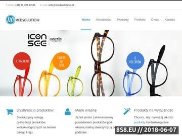 Zrzut strony Soczewki kontaktowe