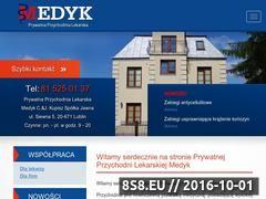Miniaturka domeny medyk.lublin.pl