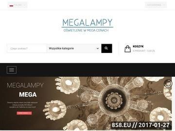 Zrzut strony Mega Lampy