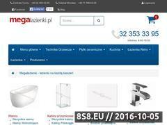Miniaturka domeny megalazienki.pl