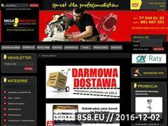 Miniaturka domeny www.megamaszyny.com.pl
