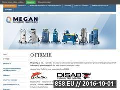 Miniaturka domeny www.megan-odkurzacze.pl