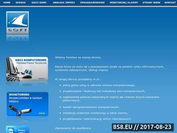 Zrzut strony Megasoft - oprogramowanie