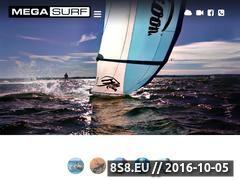 Miniaturka domeny www.megasurf.com.pl