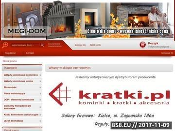 Zrzut strony Megi-dom.pl - kominki wodne