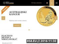 Miniaturka domeny mennicawroclawska.pl