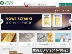 Miniaturka domeny mennicazlota.pl