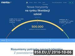 Miniaturka domeny mentax.pl