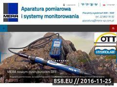 Miniaturka domeny www.mera-sp.com.pl