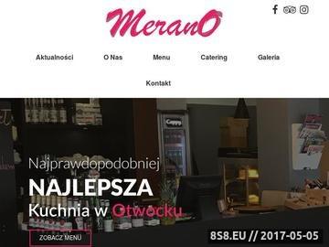 Zrzut strony Merano.pl - sklep internetowy dla Niej, dla Niego, dla Dziecka