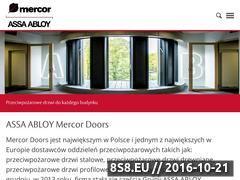 Miniaturka domeny www.mercordoors.com.pl