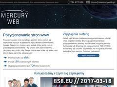 Miniaturka Pozycjonowanie stron www (mercuryweb.pl)