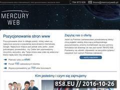 Miniaturka domeny mercurywebsc.pl