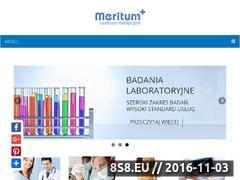 Miniaturka domeny www.meritum-cm.pl