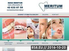 Miniaturka domeny www.meritum.lodz.pl