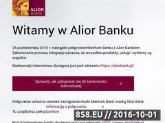 Miniaturka domeny www.meritumbank.pl