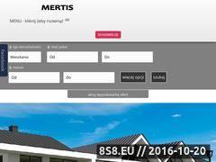 Miniaturka domeny mertis.com.pl