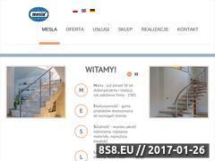 Miniaturka domeny mesla.pl