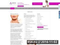 Miniaturka domeny mesoclinic.pl