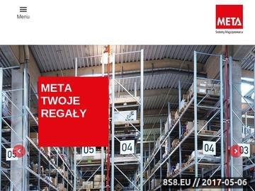 Zrzut strony META Regały magazynowe