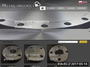 Zrzut strony Metal product kołnierze stalowe