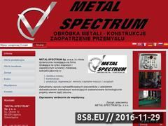 Miniaturka domeny www.metal-spectrum.pl