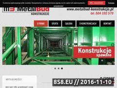 Miniaturka domeny metalbud-konstrukcje.pl