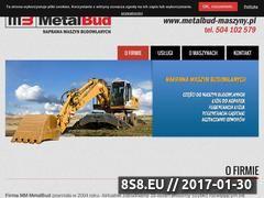 Miniaturka domeny metalbud-maszyny.pl