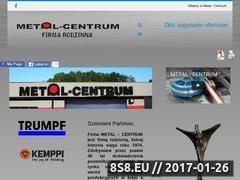 Miniaturka domeny metalcentrum.pl