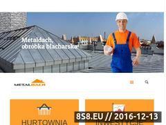 Miniaturka domeny www.metaldach.pl