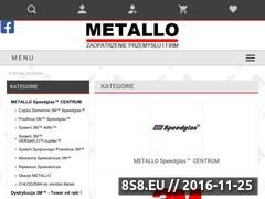 Miniaturka domeny www.metallo.pl