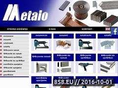 Miniaturka domeny www.metalo.pl