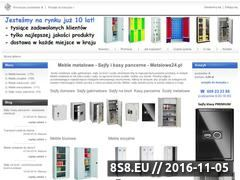 Miniaturka domeny www.metalowe24.pl