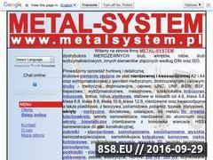 Miniaturka domeny metalsystem.pl