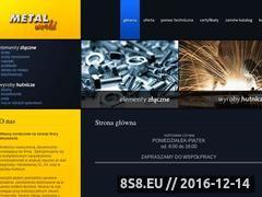 Miniaturka domeny metalworld.com.pl