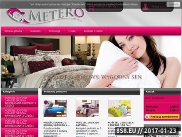 Zrzut strony Księgarnia internetowa - Metero.pl