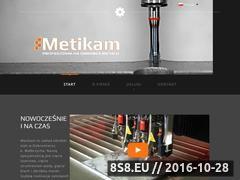 Miniaturka domeny metikam.pl