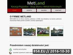 Miniaturka domeny metland.com.pl