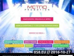 Miniaturka domeny www.metro-promotion.pl
